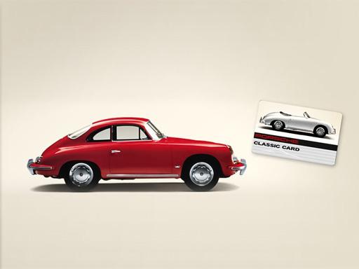 Unsere Porsche Classic Card.